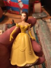 1991 Burger King Disney Beauty & The Beast Belle Plastic Figure Cake Top - As Is