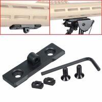 M-Lok MLOK Sling Stud / Bipod Adapter - for Harris tyle Sling Stud LOW PROFILE