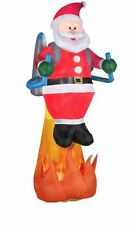8.5' Lighted Inflatable Jetpack Santa Christmas Inflatable