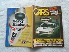 CARS Magazine-DECEMBER,1973-EVIL WEEVIL