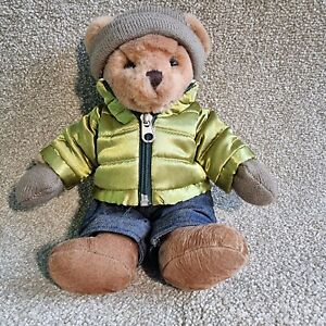 Russ Teddy Bear Jacket Beenie Hat Plush Toy Kids Children's Stuffed Soft Cuddly