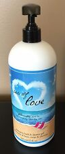 Philosophy Sea Of Love Shampoo, Shower Gel, Bubble Bath w/Pump XL 32 oz SEALED