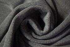 "Polartec Polar Fleece Fabric Gray Two Tone Double Sided 64""W Jacket Hunting Soft"