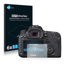 6x Displayschutzfolie für Canon EOS 7D Mark II Klar Schutzfolie Displayfolie