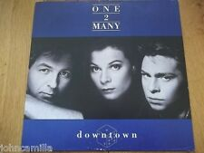 """ONE 2 MANY - DOWNTOWN - 12"""" RECORD / VINYL - A&M RECORDS - AMY 476 - UK - 1989"""