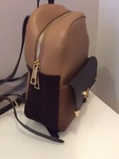 Carpisa Tan Mini Backpack Bag Handbag Purse