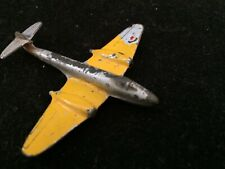 Vintage Diecast Gloster Meteor Royal Air Force Jet Airplane. Rare