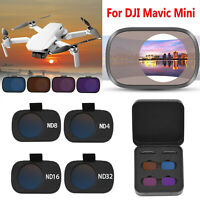 Para DJI Mavic Mini RC Drone Camera Optical Glass Lens Filter Filtro de Lente