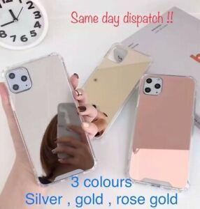 Mirror Case For iPhone 11,12,XS-MAX,X/XS/XR/11/11PRO/12 MINI,12/12PRO-12 PROMAX