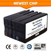 4 PK #952XL 952 XL Ink Cartridges for HP Officejet Pro 8720 8740 7740 8210 8216