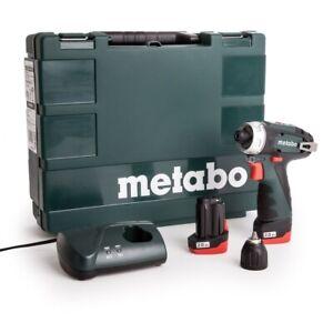Metabo 600080500 PowerMaxx BS Basic Cordless Drill/Screwdriver 10.8v