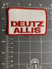 Vintage Deutz Allis Logo Patch Agriculture Farm Equipment Machinery Tractor AGCO