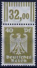 === DR Reichsadler Mi. 360 X ** OR Walze, Kat. 400€ ===