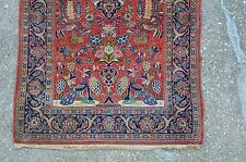 Antique Persian Keshan Rug 3.7x5