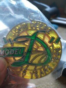 NEW NIP Vintage John Deere Suncatcher Years 1996 1997 1998 (75th Anniversary)