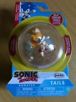 SONIC THE HEDGEHOG 2 INCH TAILS SPHERE ACTION FIGURE WAVE 1 JAKKS SPIN RACE