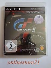 Gran Turismo 5 PlayStation 3 NEU PS3