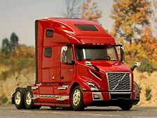 1/64 DCP RED VOLVO VNL 760 W/ HIGH ROOF SLEEPER