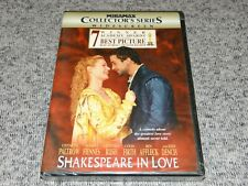 Shakespeare in Love (Widescreen Collector's Series Dvd, 1999) Brand New & Sealed