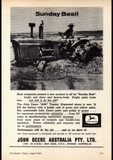 """1964 JOHN DEERE TRACTORS AD A3 CANVAS PRINT POSTER 16.5""""x11.7"""""""