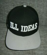 New Era SECRET SOCIETY Brand Black/Gray ILL IDEAS SNAPBACK HAT Baseball Cap