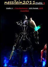 Diablo 3 Xbox One - Totenbeschwörer/Necromancer - 150 Portale - PRIMAL MODDED