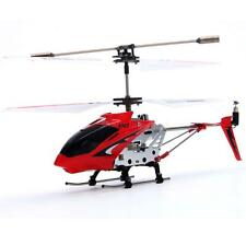 1x Red edition with Gyro S107 3.5CH Remote Control RC Helicopter Toys Metal AI1G