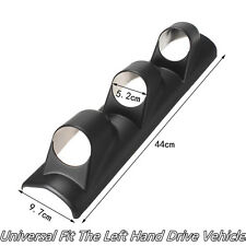 High Quality Dashboard 3-Holes A Pillar Pod 3 Triple Gauge Holder Mount Bendable