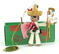 Nib Kurt Adler Sears Trim Shop Vtg 1979 Christmas Around World Ornament Mexico