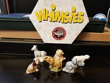 Wade England Whimsie Set B (2) complete and boxed figurines