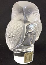 "Lalique Owl ""Chouette"" -  Adorable -"