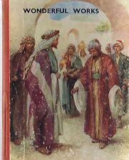 Wonderful Works Beryl and Derek's Bible Story by Vera Pewtress HC 1950's