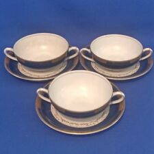 Art Deco Pottery Cups & Saucers