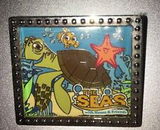 Disney Pin The Seas With Nemo And Friends Crush Epcot 30 30th Anniversary Ride