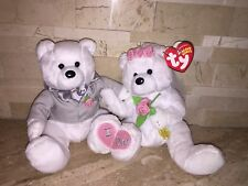 TY BEANIE BABIES BRIDE AND GROOM WE DO SET