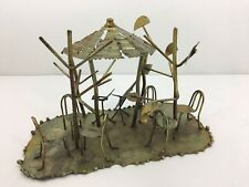 Vintage Wire Metal Brass Concert in the Park Sculpture by Price Hong Kong