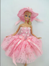 Barbie Doll Outfit Costume Dress & hat Fairytopia Ballerina Fairy Angel # FA-22
