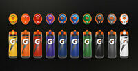 Gatorade GX Water Bottle 30oz with one 4 pack pods - CUSTOMIZE YOUR OWN BOTTLE