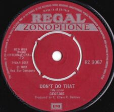 Geordie ORIG UK 45 Don't do that VG+ '72 Regal Zonophone RZ3067 AC/DC Hard Rock