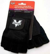 NEW Valeo VA4559SM GLLX Performance Weight Lifting Gloves 2 BLACK VA4559 SMALL