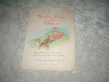 1944 Nursery Songs & Rhymes booklet