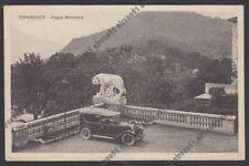 VARESE VALGANNA 27 MONDONICO Poggio BELVEDERE - AUTO d'EPOCA Cartolina viag 1931