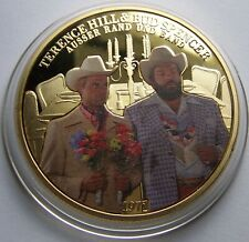 Zwei außer Rand und Band / Bud Spencer & Terence Hill - MEDAILLE - GOLD & FARBE