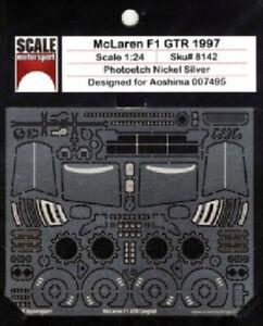 Scale Motorsport 8142 x 1/24 1997 McLaren F1 GTR Photo-Etch Detail Set