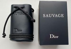Dior Leather Pouch bag For flacone Dior Sauvage 100 ml NIB RARE VIP GIFT