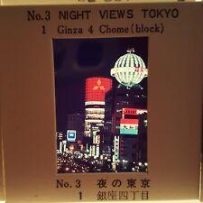 Japan Monorail Train Tokyo City Ginza VTG 1977 1978 Lot of 120 Color Slides