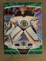 2019-20 O-PEE-CHEE PLATINUM TUUKA RASK GREEN REFRACTOR SP /10 - BOSTON BRUINS