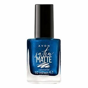 Avon Nail Enamel  Satin Matte Effect Matte Finish Assorted Shades 10ml