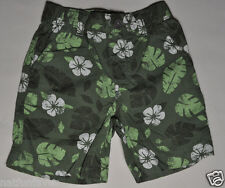 Gymboree toddler boy green hawaian shorts size 12-18 months NWT bottoms boys