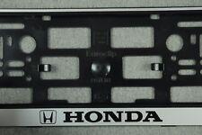 2 x Kennzeichenhalter HONDA Kennzeichenhalterung Nummernschildhalter kfz NEU